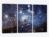 LH95 Stellar Nursery Hubble Space Telescope by NASA Canvas Print 60