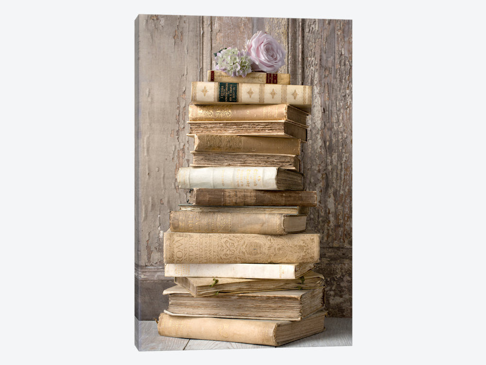 "Books I by Symposium Design Canvas Print 26"" L x 40"" H x 0.75"" D - eWallArt"