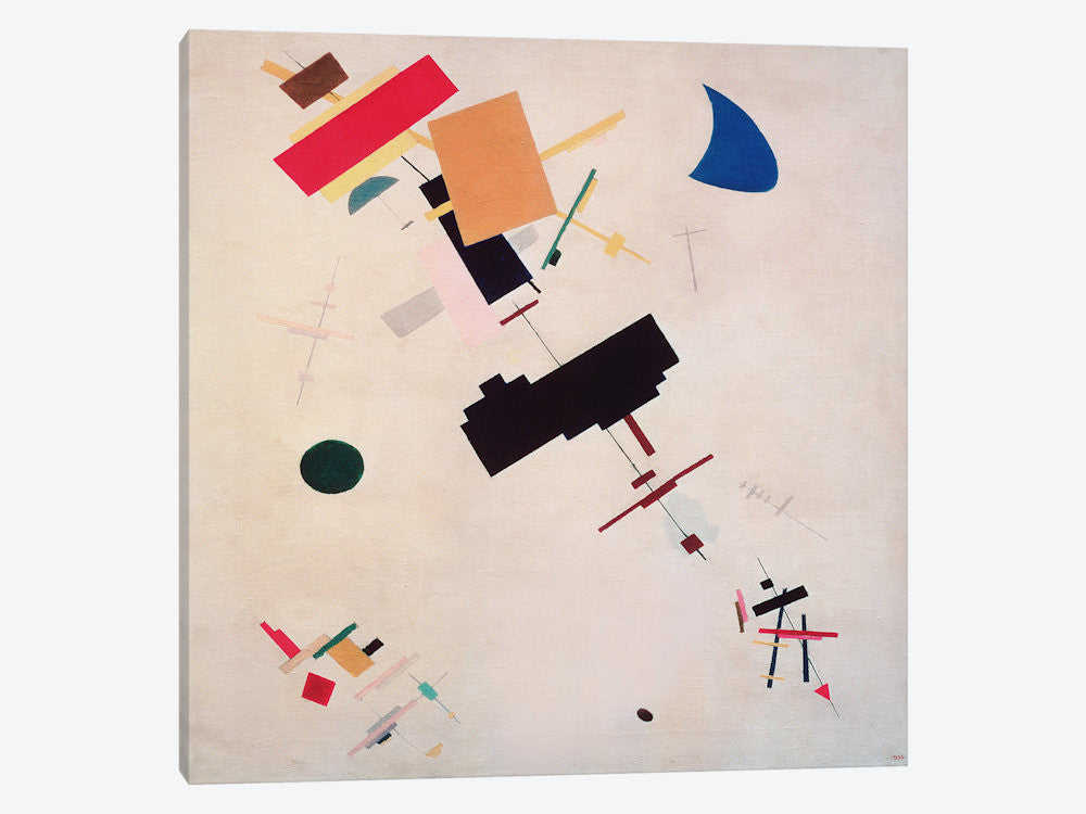 "Suprematist Composition No.56 1916 by Kazimir Malevich Canvas Print 26"" L x 26"" H x 0.75"" D - eWallArt"