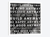 Mother Teresa Quote by iCanvas Canvas Print 26