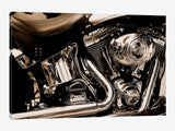 Harley Motorcycle Canvas Print 26