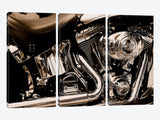 Harley Motorcycle Canvas Print