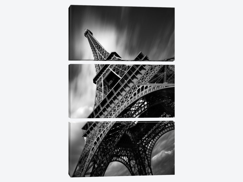 "Eiffel Tower Study II by Moises Levy Canvas Print 40"" L x 60"" H x 0.75"" D - eWallArt"