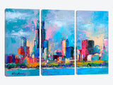 Chicago 5 by Richard Wallich Canvas Print 60