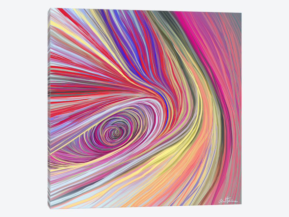 "Pure Abstract bis by Ben Heine Canvas Print 26"" L x 26"" H x 0.75"" D - eWallArt"