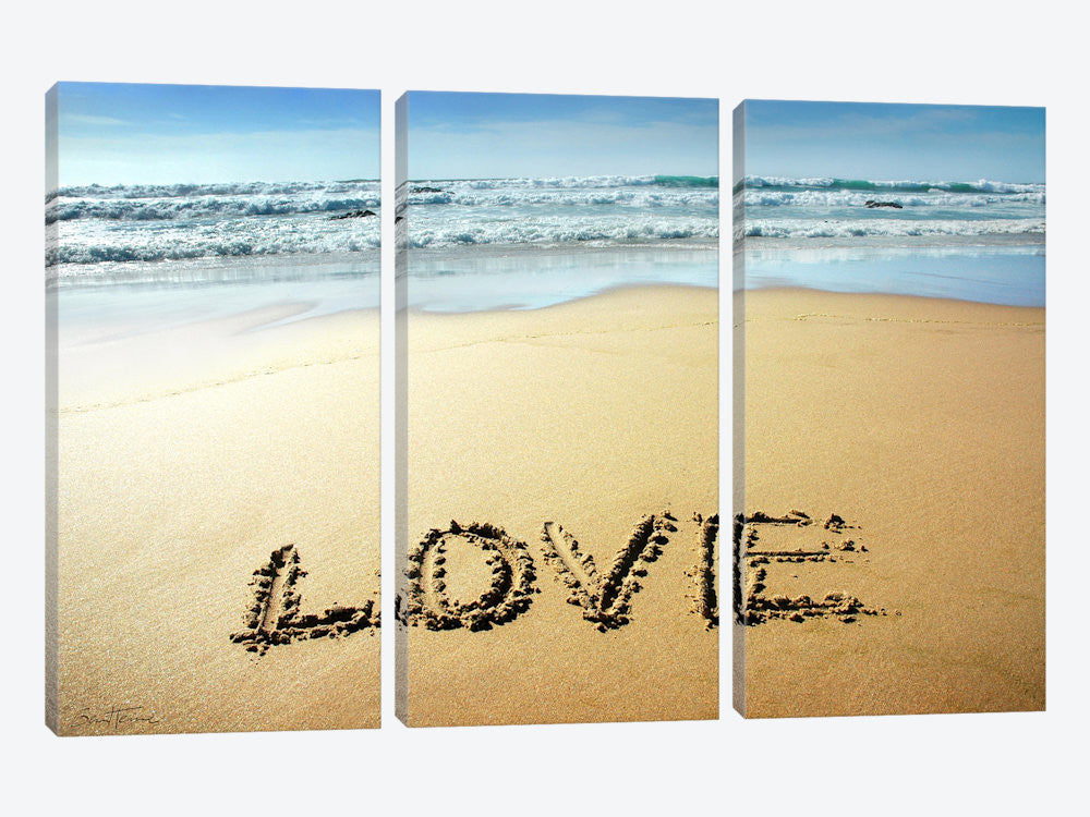 "Love by Ben Heine Canvas Print 60"" L x 40"" H x 0.75"" D - eWallArt"