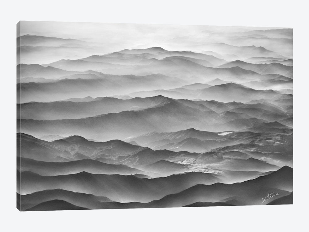 "Ocean Mountains by Ben Heine Canvas Print 60"" L x 40"" H x 1.5"" D - eWallArt"