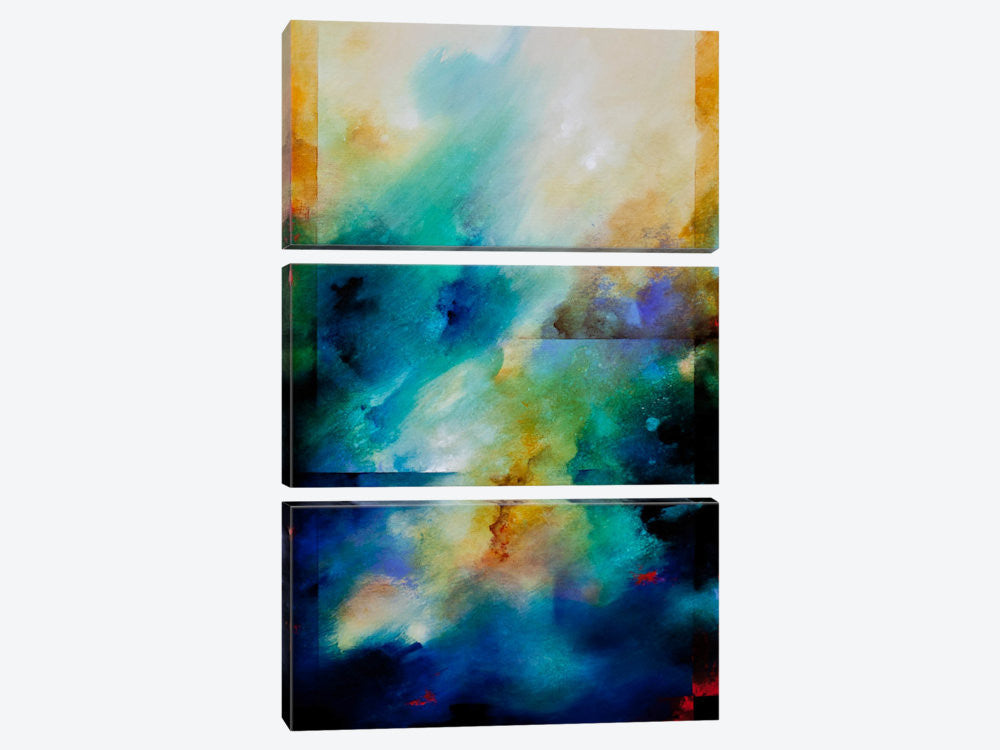 "Aqua Breeze by CH Studios  Canvas Print 40"" L x 60"" H x 0.75"" D - eWallArt"