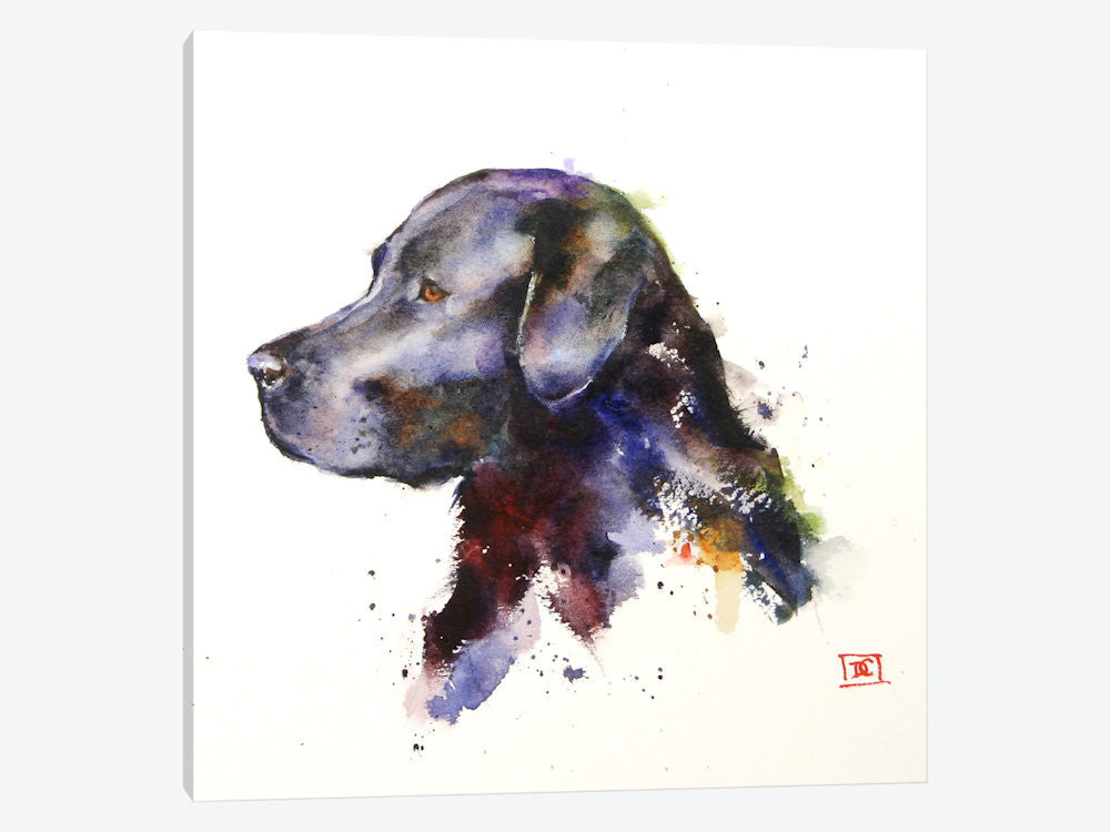 "Dog by Dean Crouser Canvas Print 26"" L x 26"" H x 0.75"" D - eWallArt"