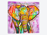 Elephant by Dean Russo Canvas Print 37