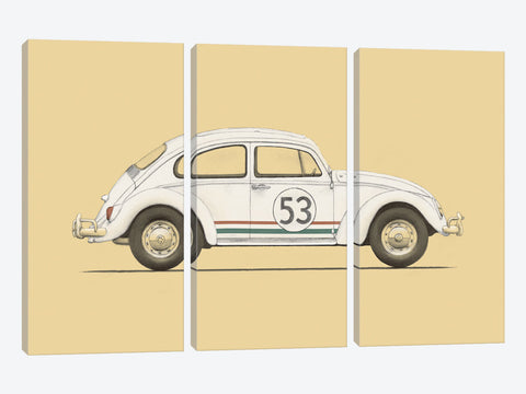 "Beetle by Florent Bodart Canvas Print 60"" L x 40"" H x 1.5"" D"
