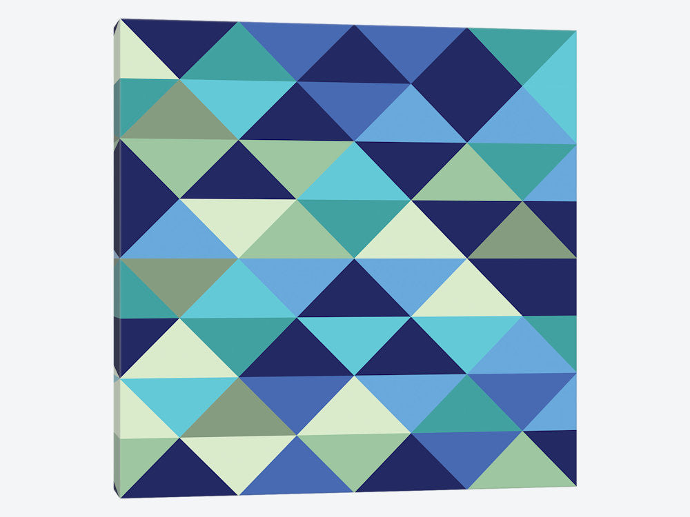 "Crystal I Ocean by Greg Mably Canvas Print 37"" L x 37"" H x 0.75"" D - eWallArt"