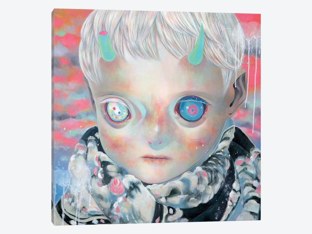 "Dream Child by Hikari Shimoda Canvas Print 37"" L x 37"" H x 0.75"" D - eWallArt"