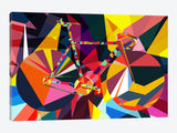 Polygon Fixie by iCanvas Canvas Print 60