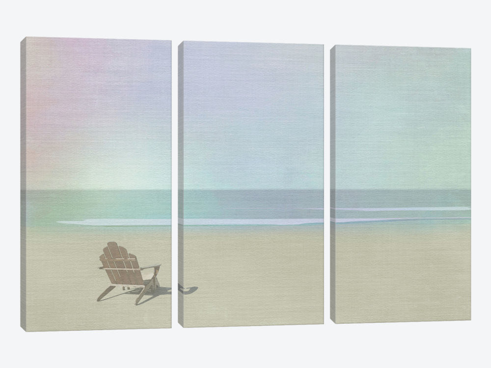 "Serene Beach by Noah Bay Canvas Print 60"" L x 40"" H x 0.75"" D - eWallArt"