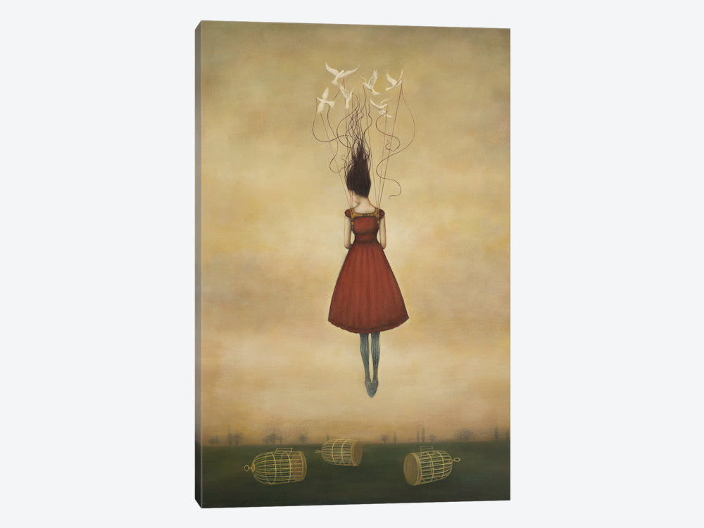 "Suspension of Disbelief by Duy Huynh Canvas Print 26"" L x 40"" H x 0.75"" D - eWallArt"