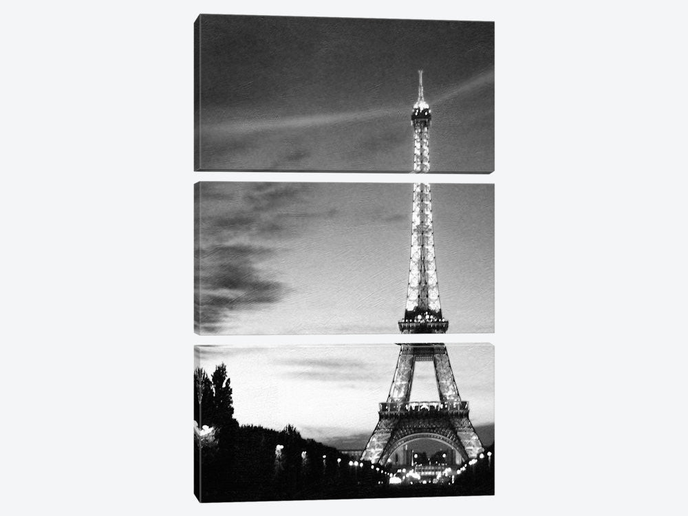 "Eiffel Tower by PhotoINC Studio Canvas Print 40"" L x 60"" H x 0.75"" D - eWallArt"