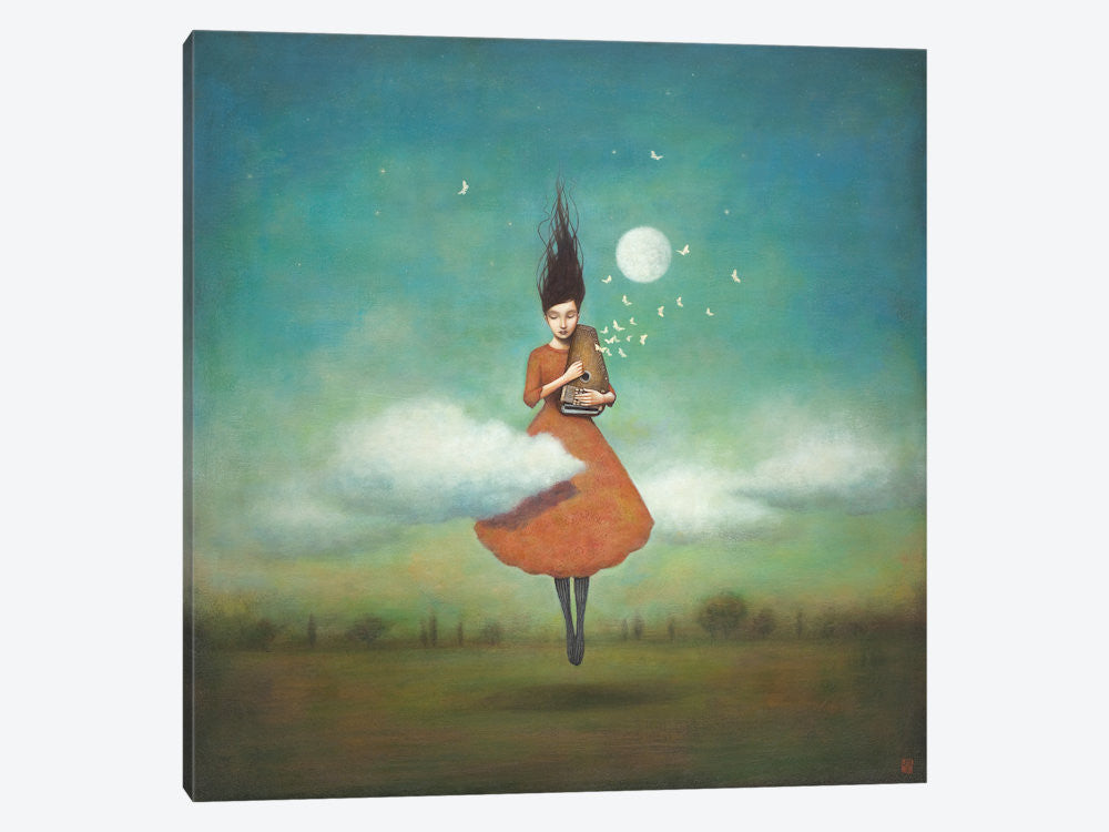 "High Notes For Low Clouds by Duy Huynh Canvas Print 37"" L x 37"" H x 0.75"" D - eWallArt"