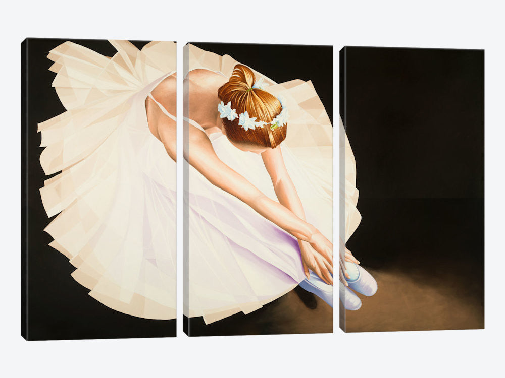 "The Ballerina by Karl Black Canvas Print 60"" L x 40"" H x 0.75"" D - eWallArt"