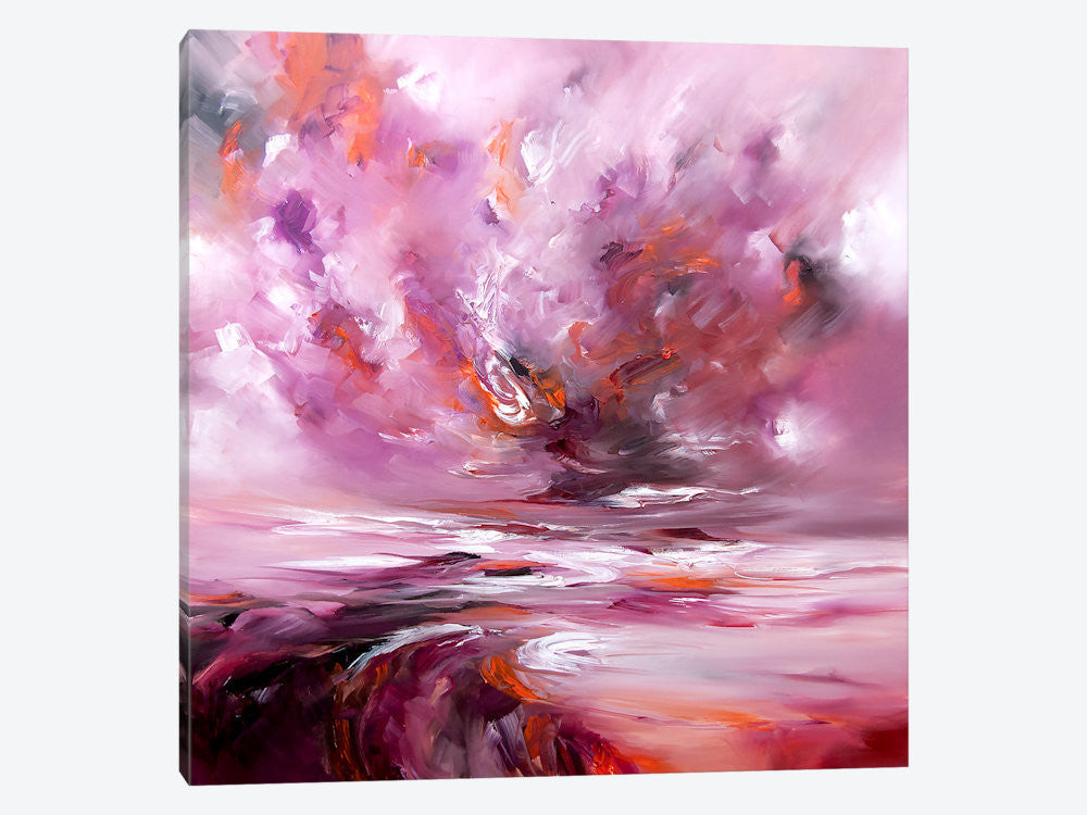 "Eternal by J.A Art Canvas Print 37"" L x 37"" H x 0.75"" D - eWallArt"