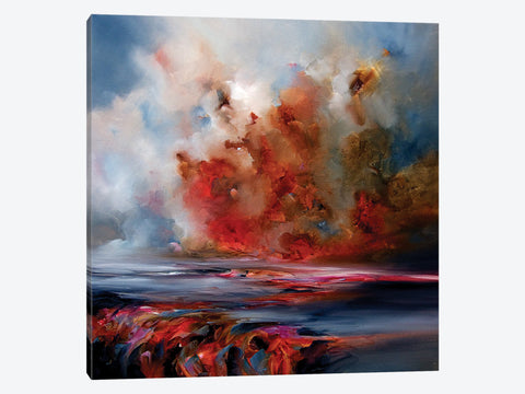 "Vermillion Cumulus  by Scott Naismith Canvas Print 26"" L x 18"" H x 0.75"" D"