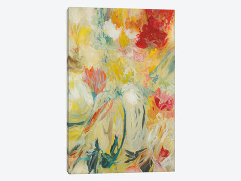 "Pretty Swirl by Julian Spencer Canvas Print 40"" L x 60"" H x 1.5"" D"