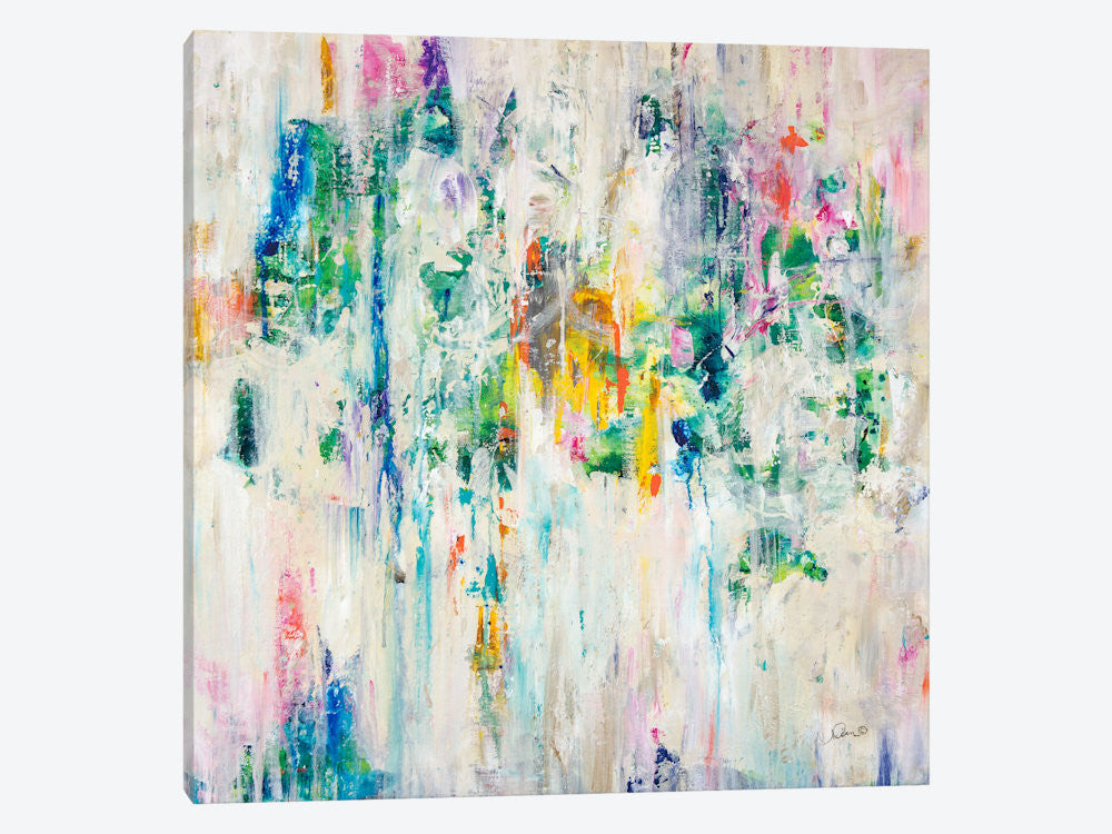 "Splash by Julian Spencer Canvas Print 26"" L x 26"" H x 0.75"" D - eWallArt"