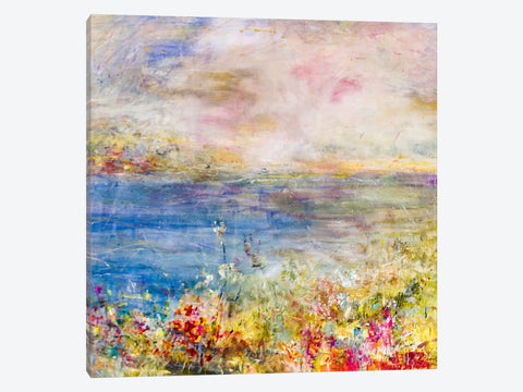 "Pretty Swirl by Julian Spencer Canvas Print 26"" L x 40"" H x 0.75"" D"