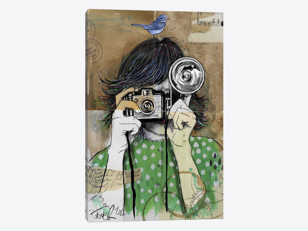 "Little Moments by Loui Jover Canvas Print 18"" L x 26"" H x 0.75"" D - eWallArt"