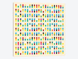 Modern Art 10 Capsules by 5by5collective Canvas Print 37