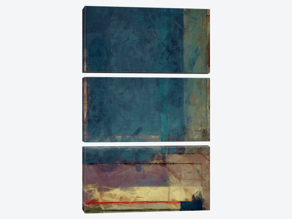 "Modern Art  Ocean view Window by 5by5collective Canvas Print 40"" L x 60"" H x 0.75"" D - eWallArt"