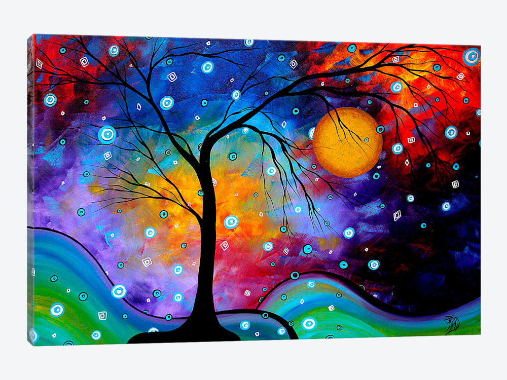 "Winter Sparkle by Megan Duncanson Canvas Print 26"" L x 18"" H x 0.75"" D - eWallArt"