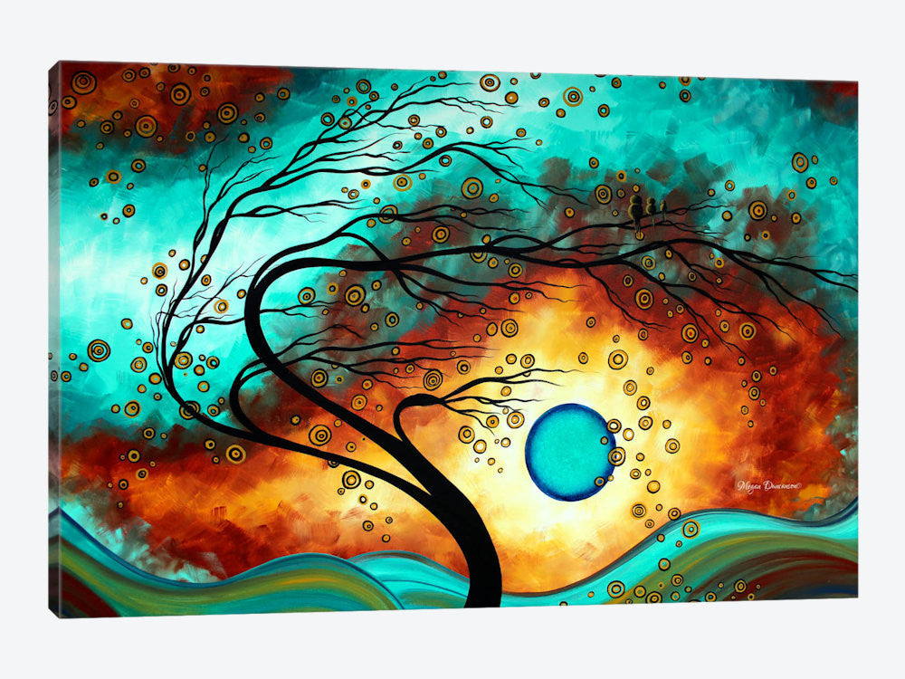 "Family Joy by Megan Duncanson Canvas Print 60"" L x 40"" H x 1.5"" D - eWallArt"
