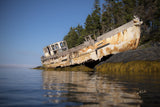 Nova Scotia Shipwreck by The Outdoor Image Canvas Print