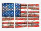 USA Vintage Wood by Diego Tirigall Canvas Print 60