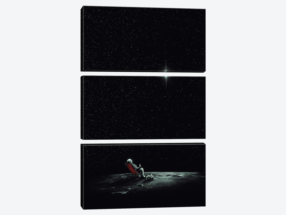 "Space Chill II by Nicebleed Canvas Print 40"" L x 60"" H x 0.75"" D - eWallArt"