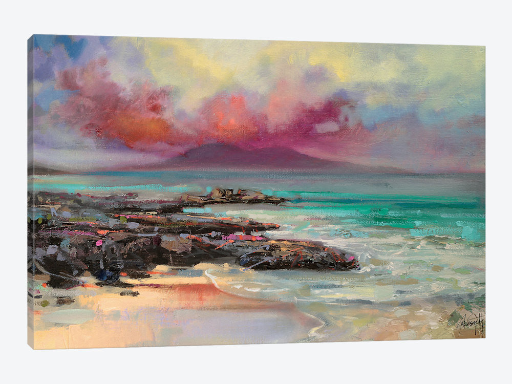 "Harris Rocks by Scott Naismith Canvas Print 40"" L x 26"" H x 0.75"" D - eWallArt"