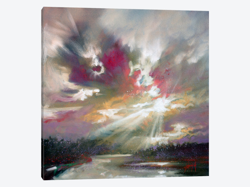 "Loch Light II by Scott Naismith Canvas Print 26"" L x 26"" H x 0.75"" D - eWallArt"
