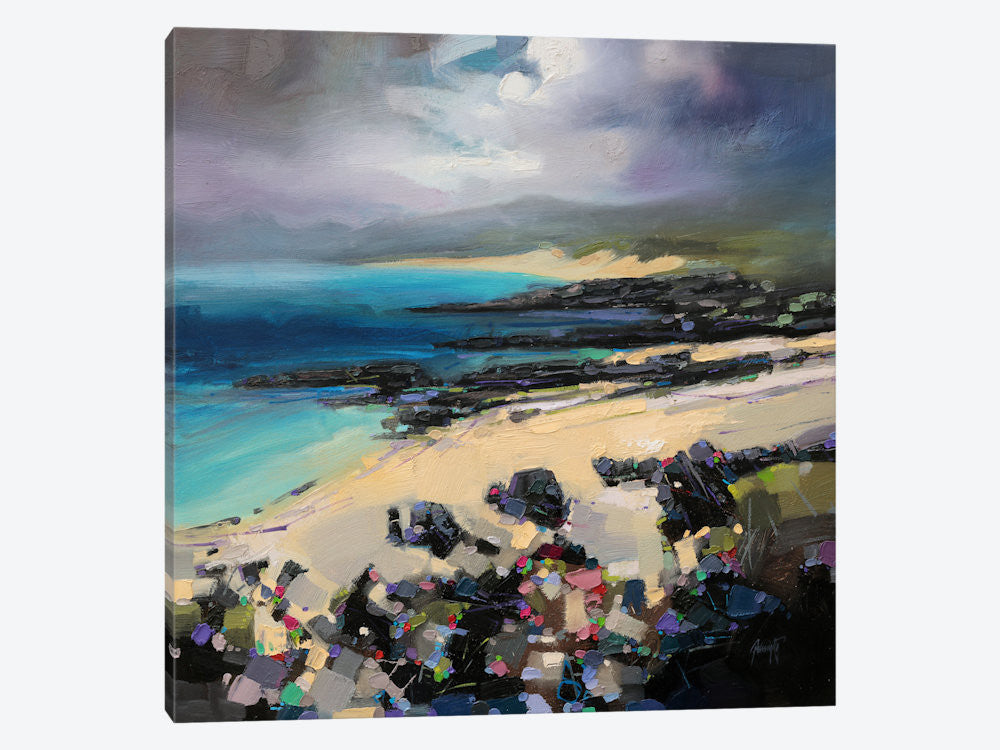 "Coulours of Harris by Scott Naismith Canvas Print 37"" L x 37"" H x 0.75"" D - eWallArt"