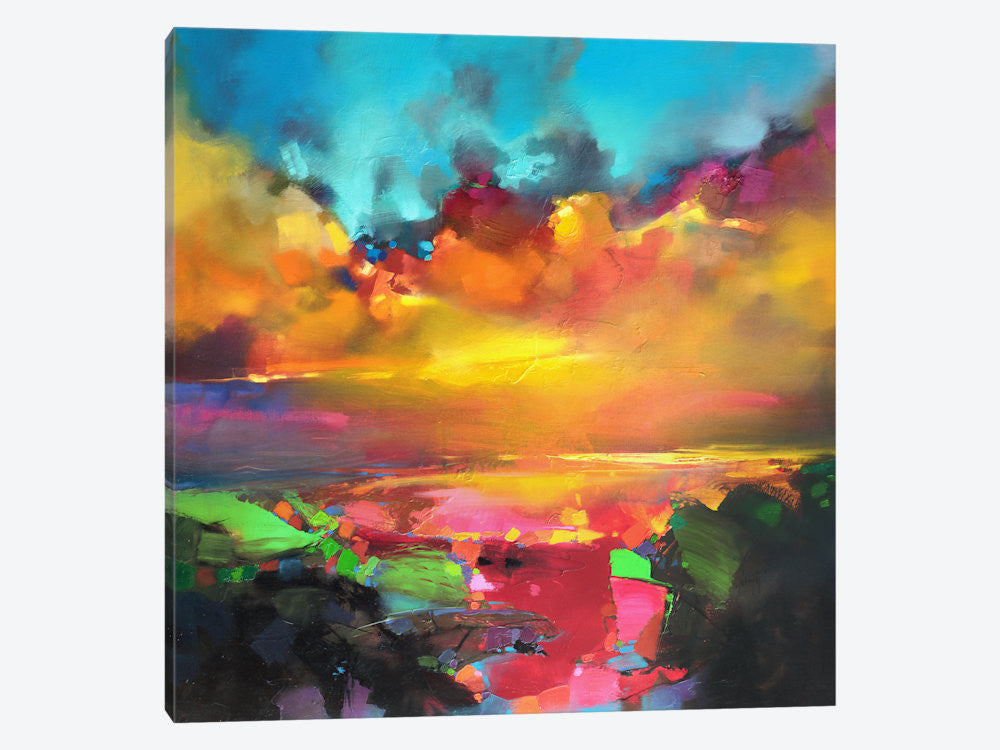 "Consonance And Disonance by Scott Naismith Canvas Print 37"" L x 37"" H x 0.75"" D - eWallArt"