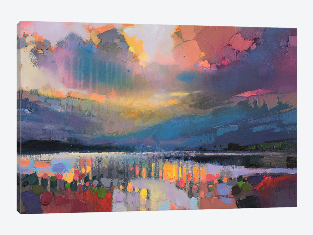 "Lomond Light by Scott Naismith Canvas Print 26"" L x 18"" H x 0.75"" D - eWallArt"