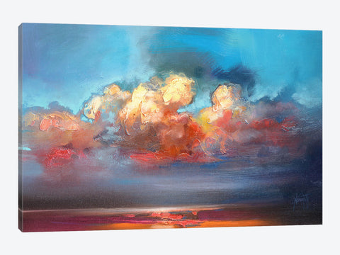 "Rain Clouds by Julian Spencer Canvas Print 60"" L x 40"" H x 0.75"" D"