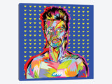 Bowie by TECHNODROME1 Canvas Print 26