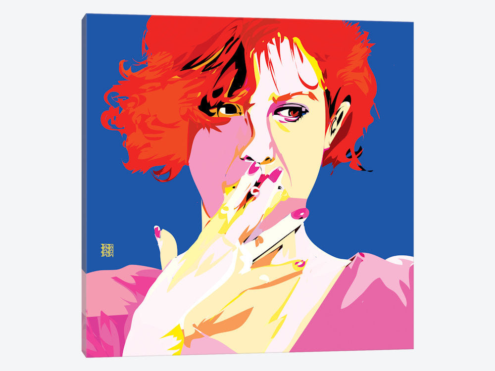 "Breakfast Club II by TECHNODROME1 Canvas Print 37"" L x 37"" H x 0.75"" D - eWallArt"