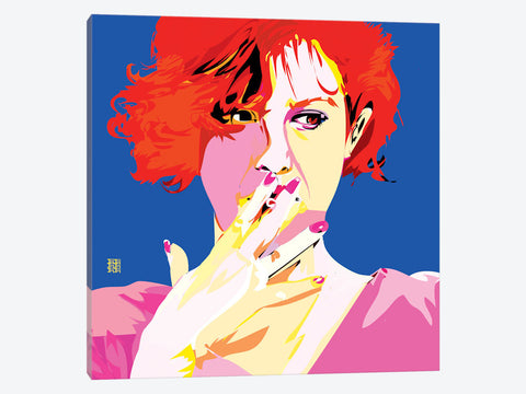 "Breakfast Club II by TECHNODROME1 Canvas Print 37"" L x 37"" H x 0.75"" D"