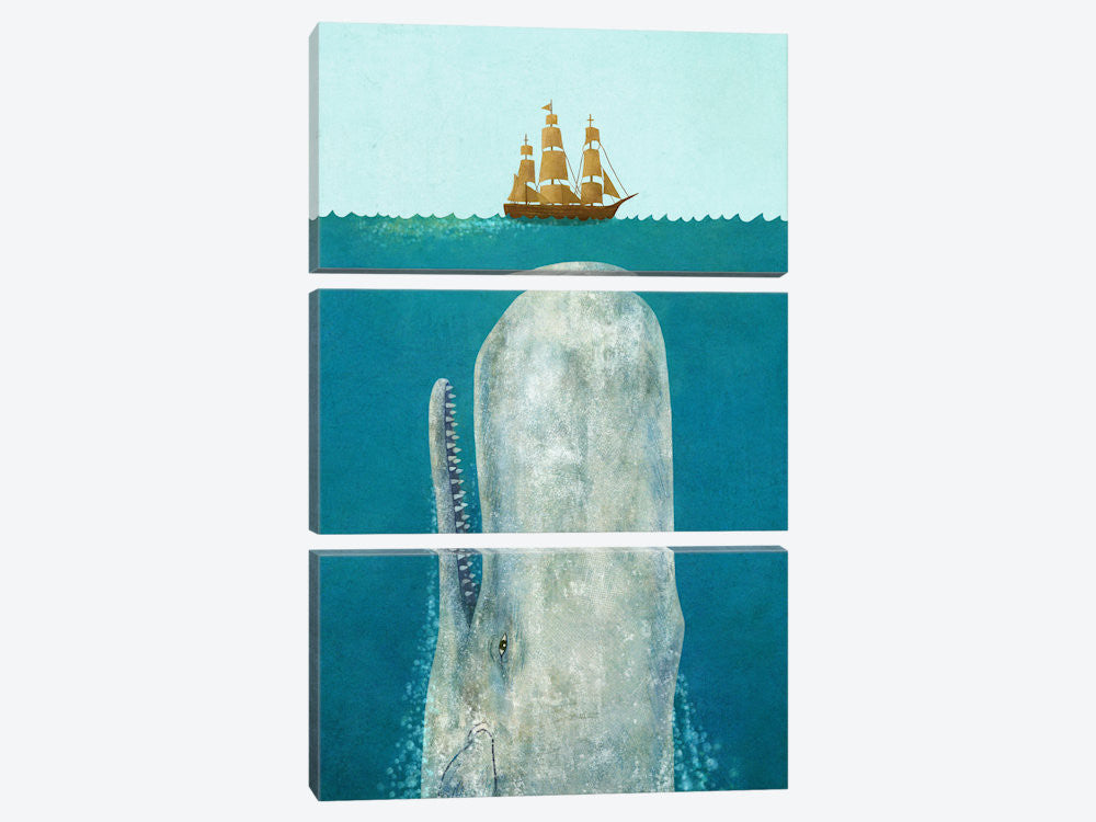 "The Whale by Terry Fan Canvas Print 40"" L x 60"" H x 0.75"" D - eWallArt"