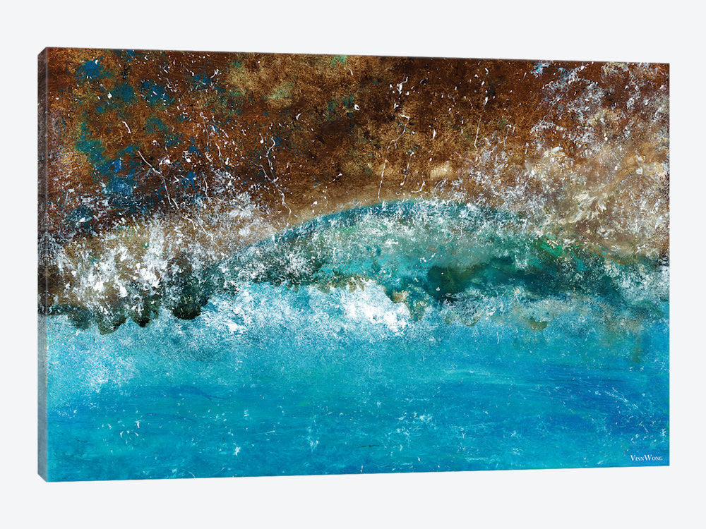 "Distant Shores by Vinn Wong Canvas Print 40"" L x 26"" H x 0.75"" D - eWallArt"
