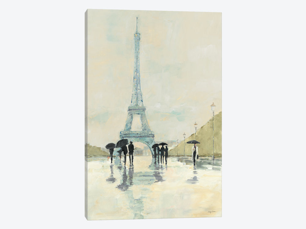 "April in Paris by Avery Tillmon Canvas Print 18"" L x 26"" H x 0.75"" D - eWallArt"
