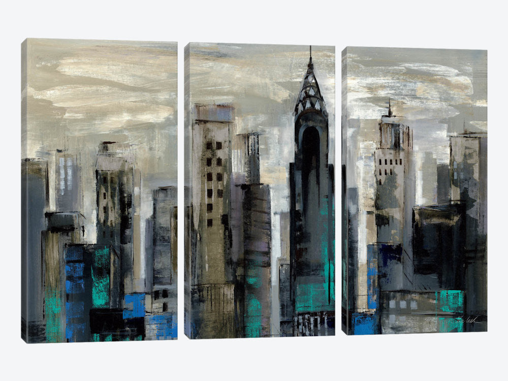 "New York Moment  by Silvia Vassileva Canvas Print 60"" L x 40"" H x 0.75"" D - eWallArt"