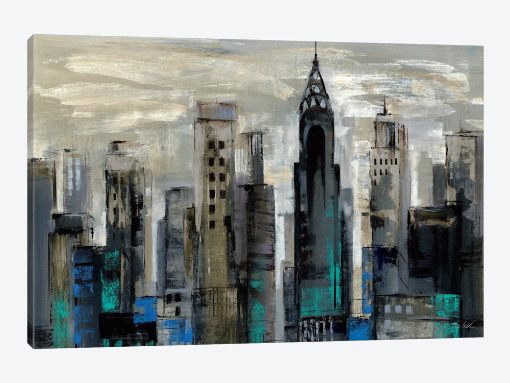 "New York Moment  by Silvia Vassileva Canvas Print 60"" L x 40"" H x 1.5"" D - eWallArt"
